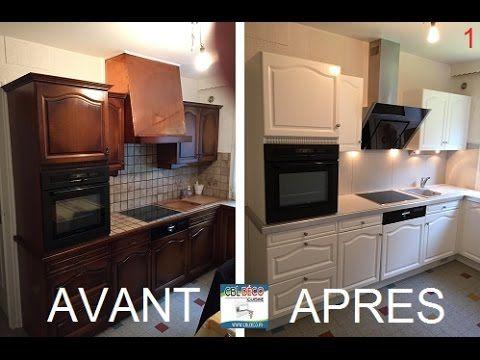 R nover un meuble de cuisine youtube r cup cuisine - Renovation meubles de cuisine ...