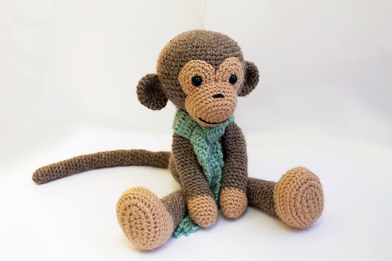 Amigurumi Mini Monkey Crochet Pattern | 1000x1500