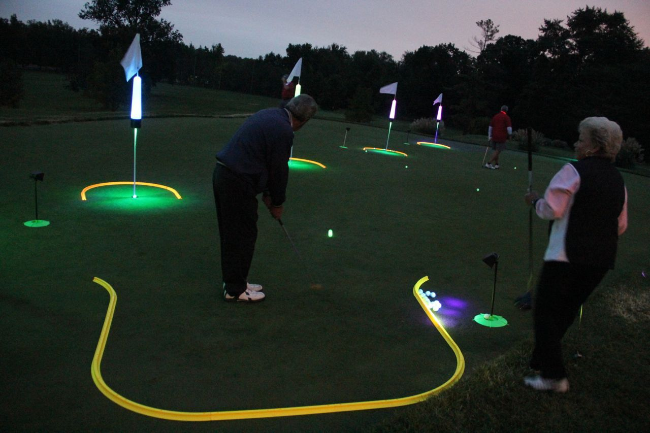 How To Create A Golf Skills Competition Day Or Night Glowgear Target Golf Golf Skills