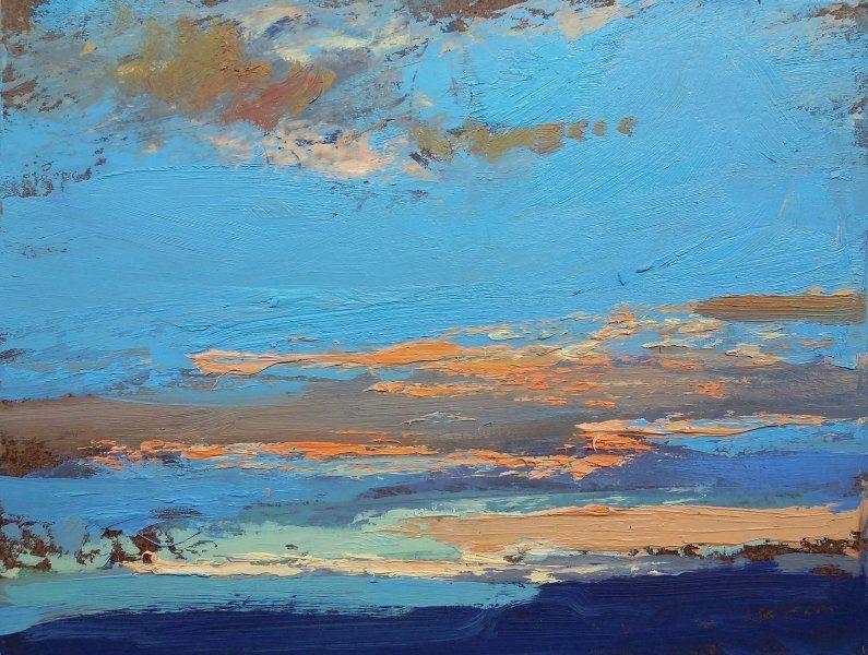 John David Wissler oil on panel 9 x 12 inches