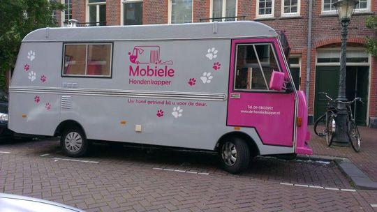 The Mobile Dog Grooming Salon Dog grooming salons, Dog