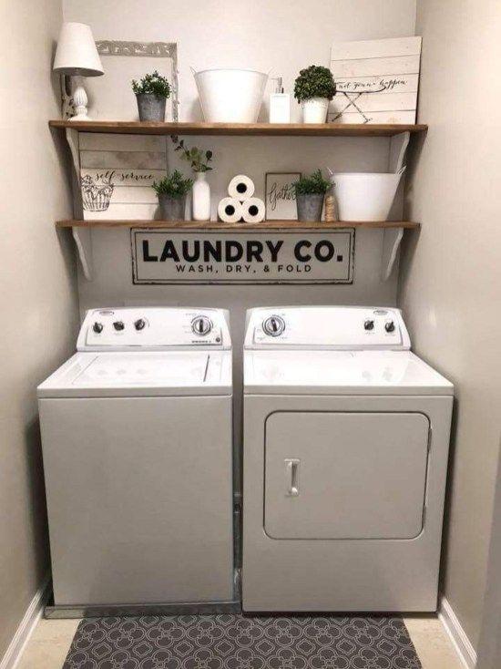 Photo of 42 Minimalistische Ideen für die Organisation kleiner Waschküchen – HOMEWOWDECOR