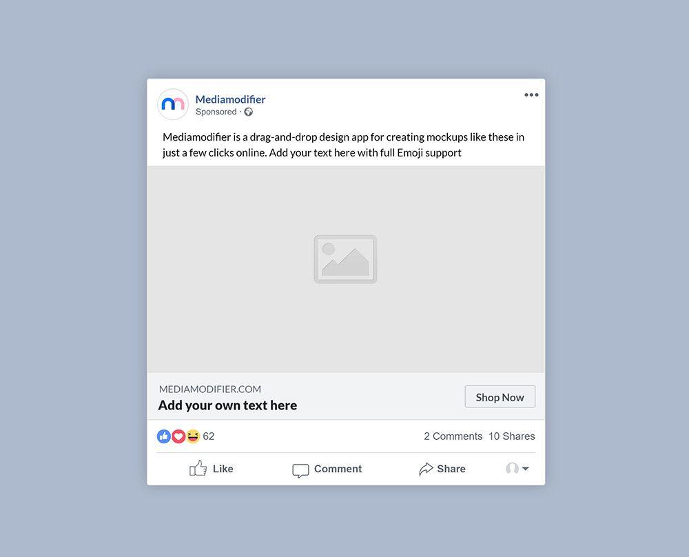 36 Best Instagram And Social Media Mockups For 2020 Mediamodifier Social Media Mockup Sponsored Posts Facebook Post Mockup
