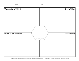 Behavior Punch Cards, Vocabulary Center, and Extended Tax