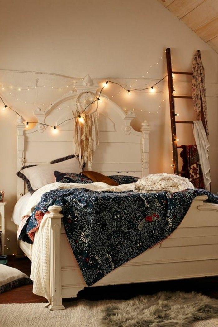 60 id es en photos avec clairage romantique chambres et dressing pinterest chambre lit. Black Bedroom Furniture Sets. Home Design Ideas