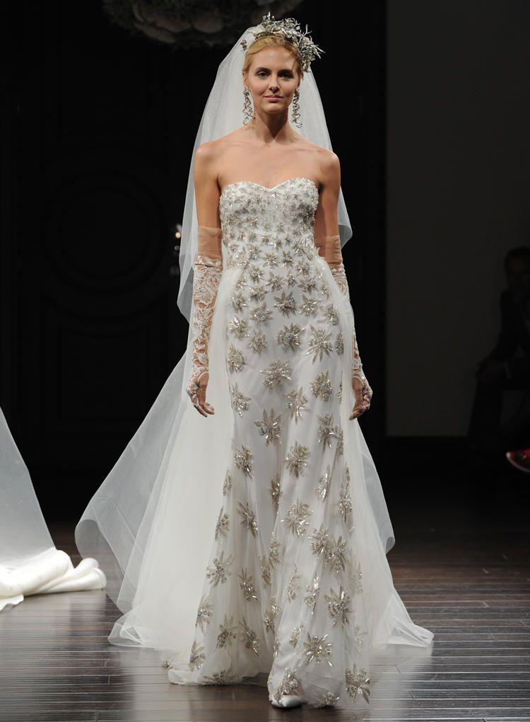 Naeem Khan Shows HandPainted Wedding Dresses For Spring 2016 - Star Wedding Dress