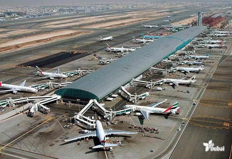 Dubai International Airport Terminal 1 In 2005 Dubai Airport Dubai International Airport International Airport