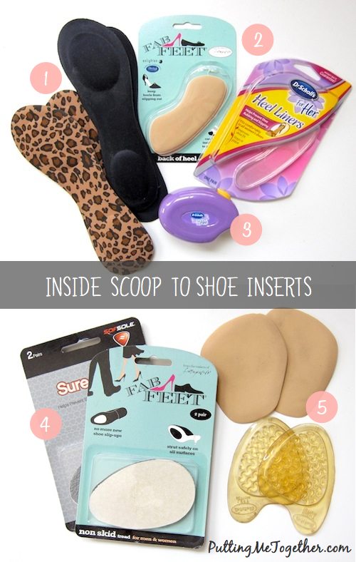 Inside Scoop to Shoe Inserts (how to make heels flats more comfortable) bf46f02760ee