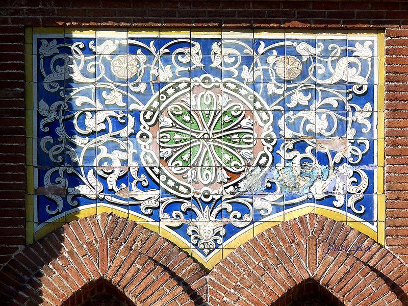 Azulejos Plaza De Toros De Las Ventas Madrid Arq