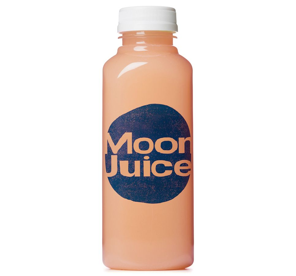Grapefruit, Aloe, Schisandra Berry, and Pearl. This juice beautifies, mineralizes deeply, and is high in aminos.
