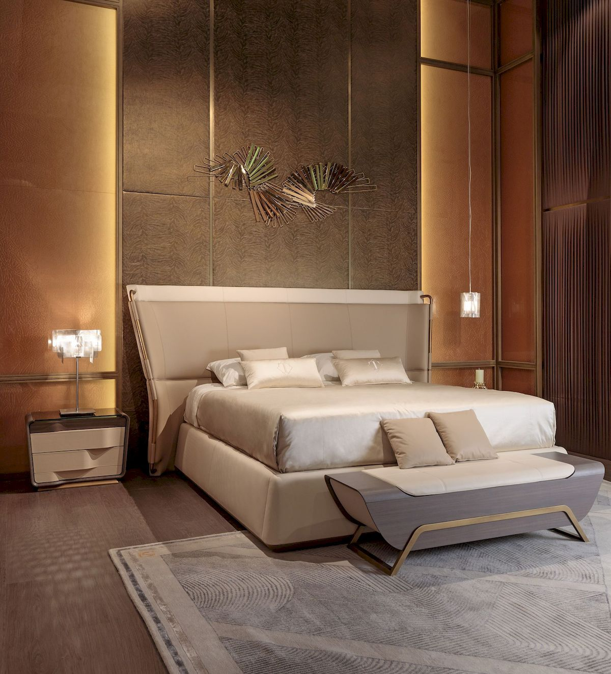 Luxury Bedroom Furniture Stores: Stunning Bedroom Lighting Ideas