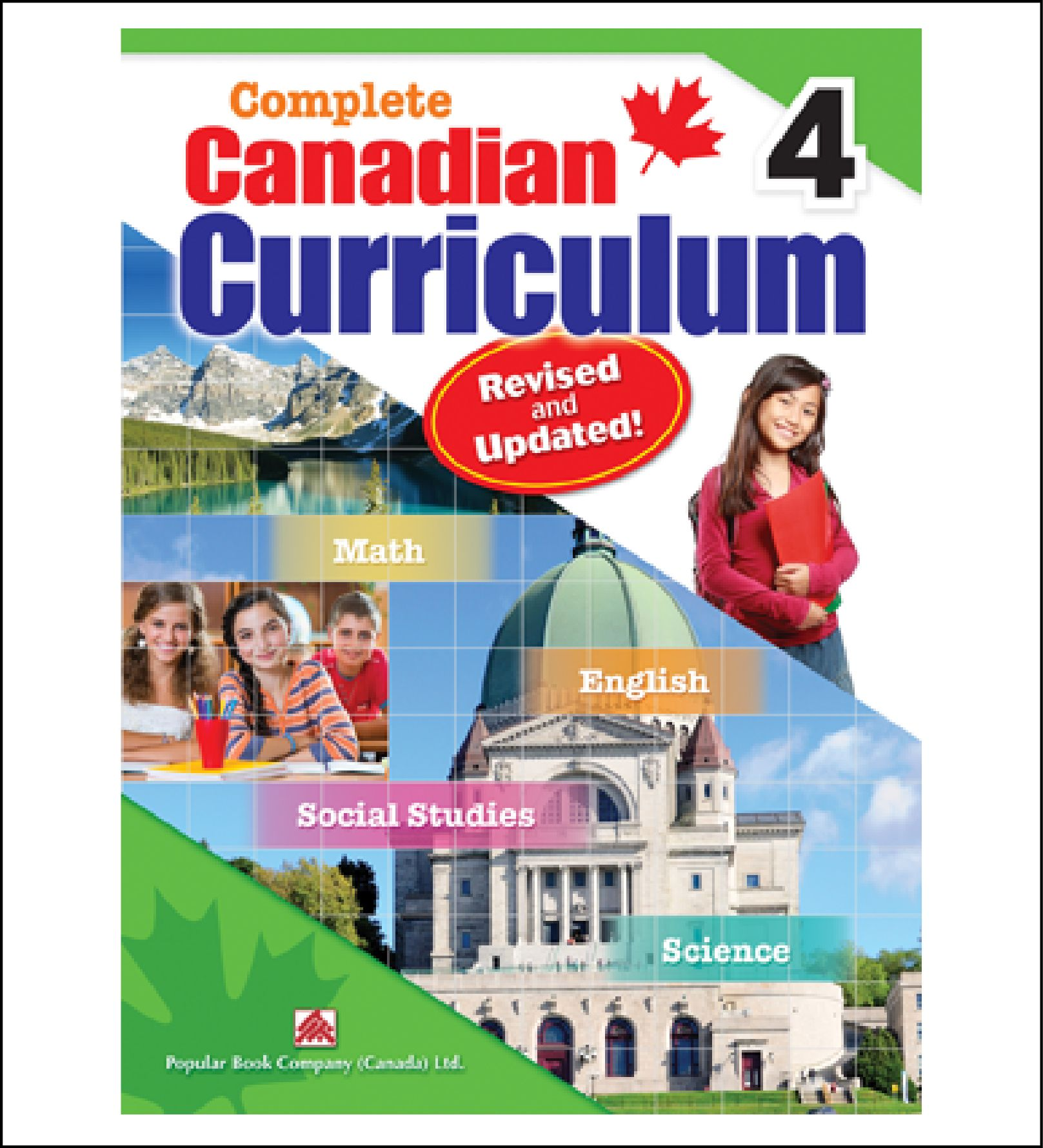 Workbook For Kids Complete Canadian Curriculum Grade 4 By