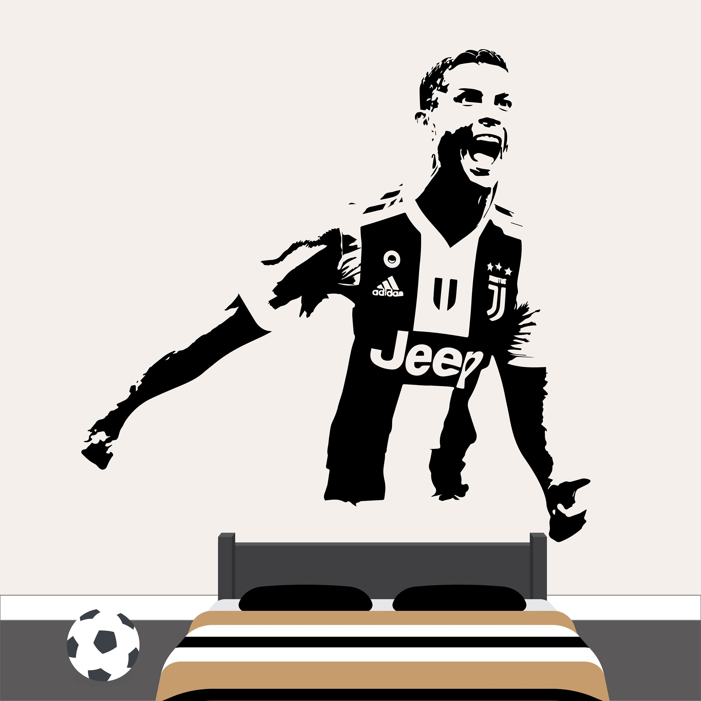 Best Paulo Dybala Wall Art Sticker Vinyl Argentina Football 400 x 300