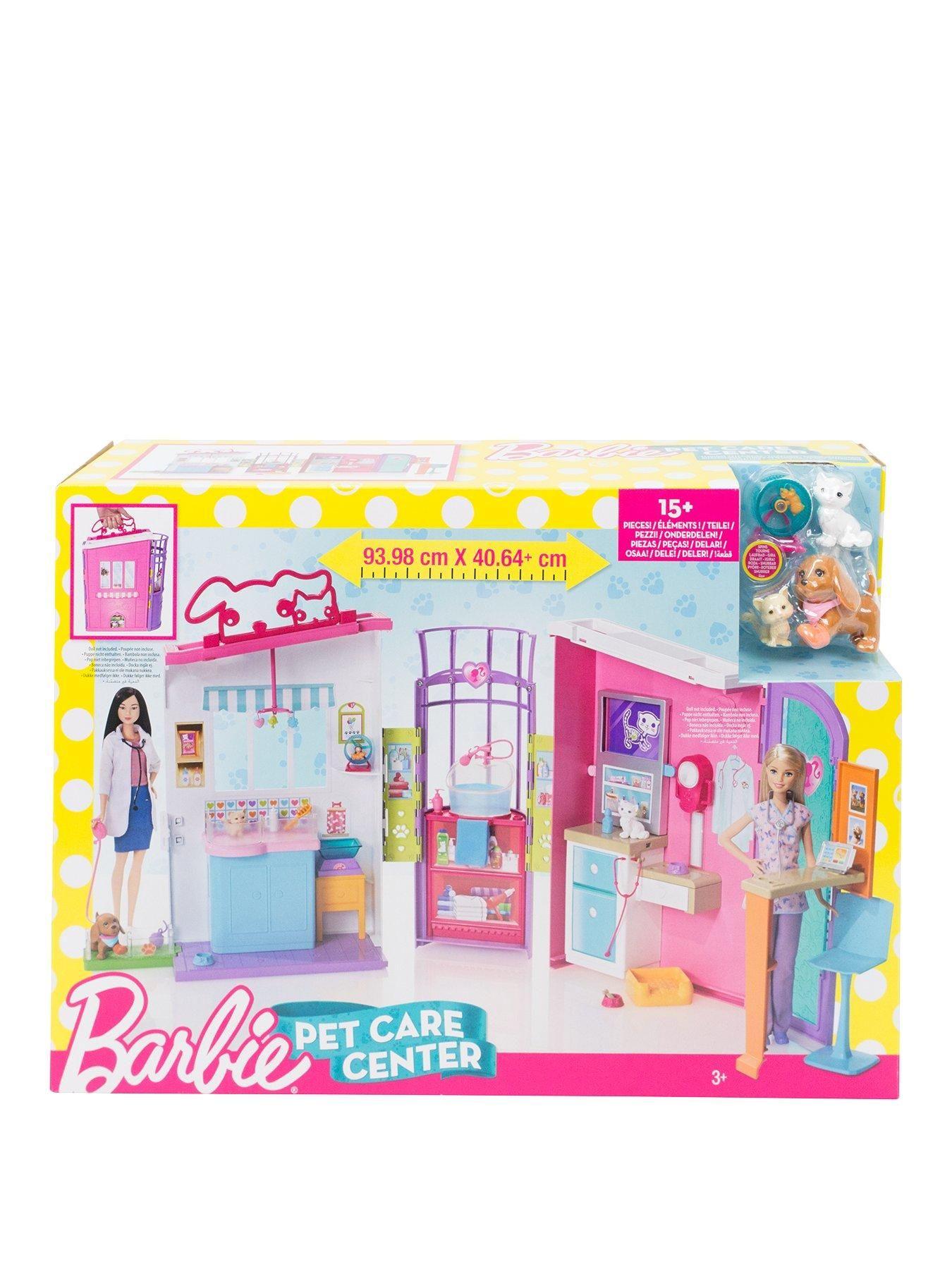 Barbie careers pet care centre playset one colour