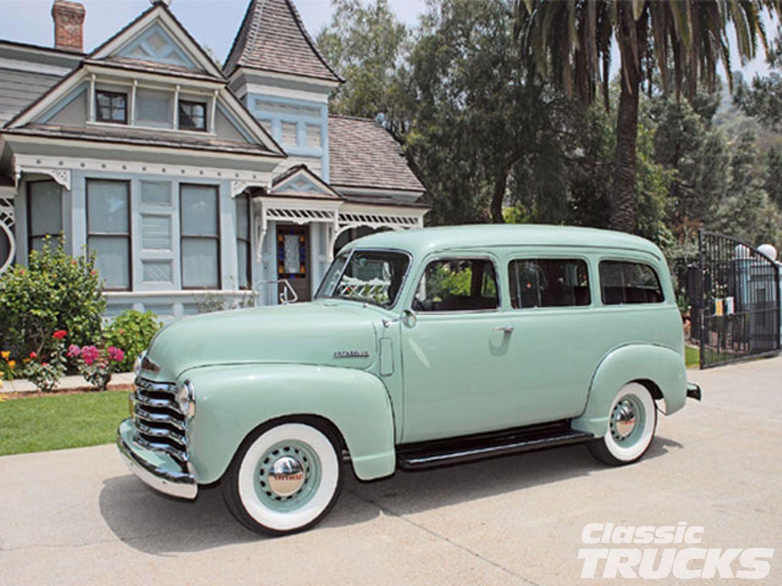 1950 Chevy Suburban Vintage Classic Photo 1