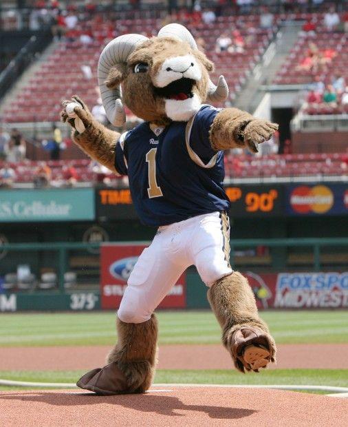 St. Louis Rams Mascot: Rampage