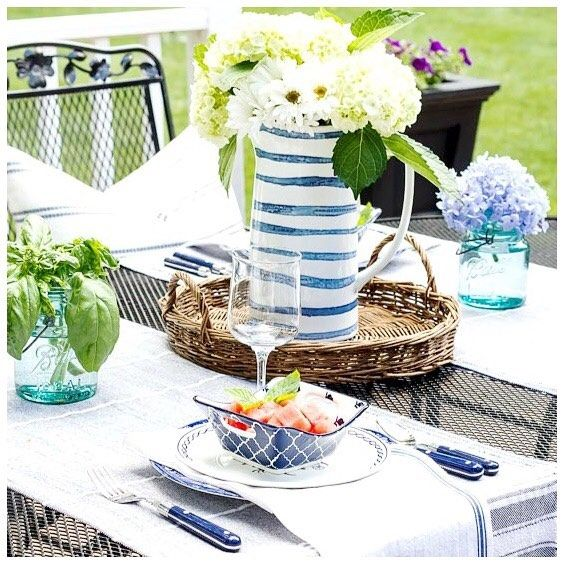 It S All About Summer Entertaining Dining Al Fresco And Making Memories Join Me
