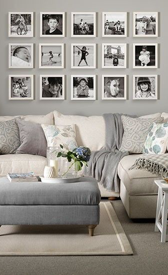 wonderful living room wall decor ideas | Pin by Rim & Serine on cheap picture frames in 2019 ...