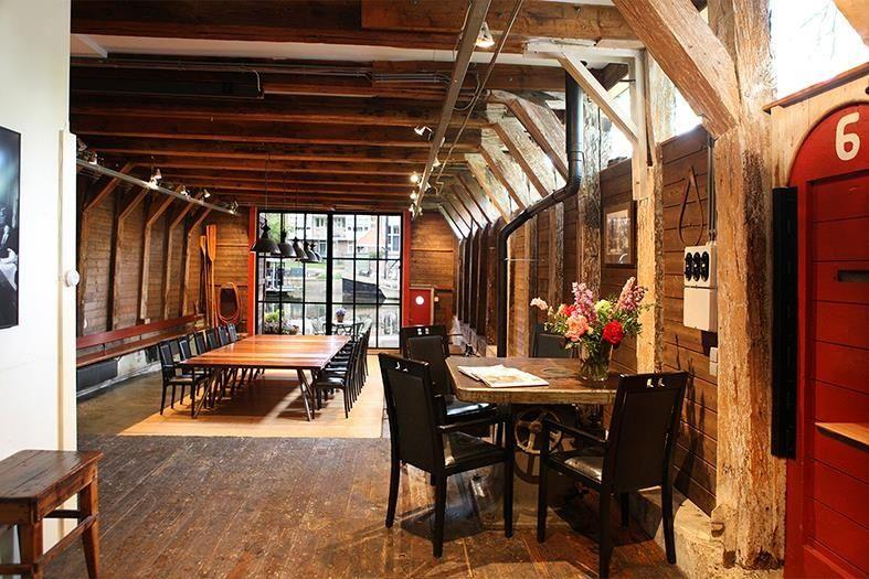Interieur Woning Prinseneiland : De kleine werf prinseneiland boat house