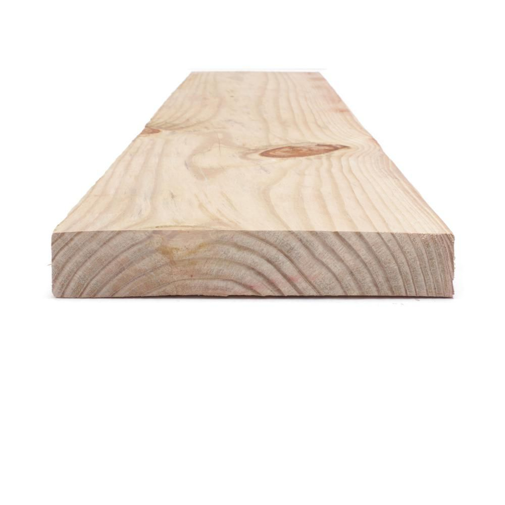 2 In X 10 In X 16 Ft 2 Prime Cedar Tone Ground Contact Pressure Treated Lumber 253270 The Home Depot Lumber Cedar Southern Yellow Pine