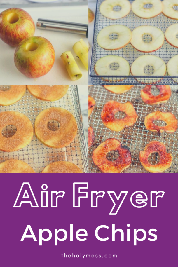Air Fryer Apple Chips Recipe Healthy Baked Snack The