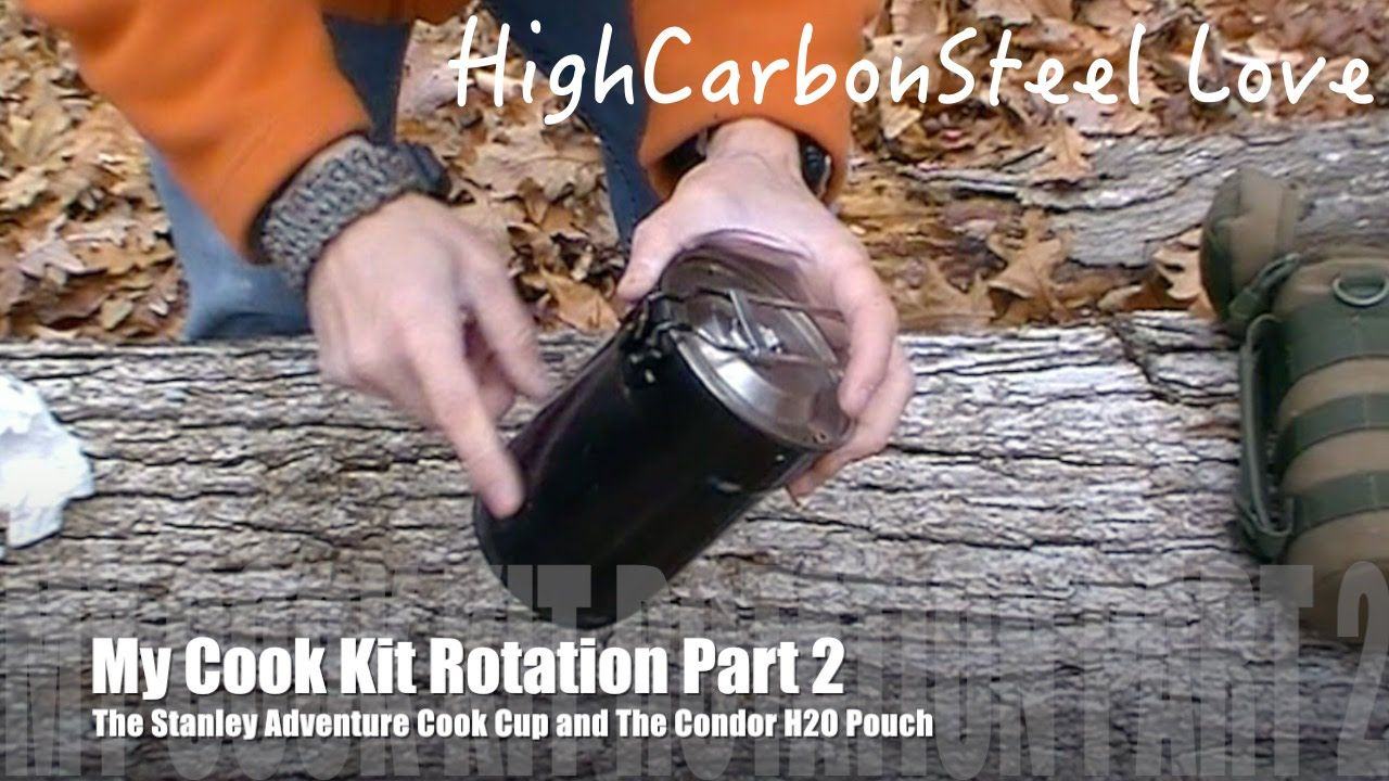 My Cook Kit Rotation Part 2 - The Stanley Adventure Cook Cup and The Con...