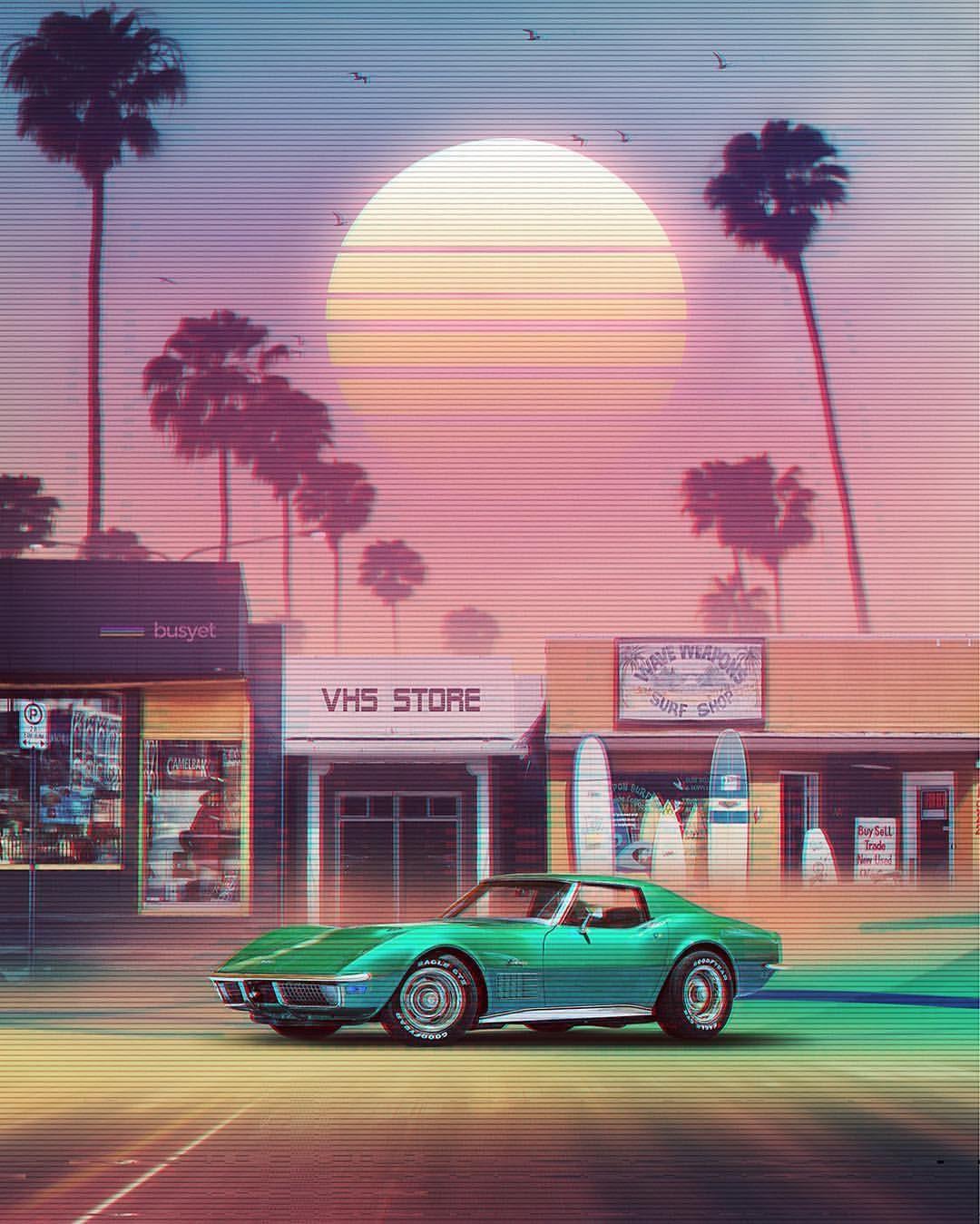 """Sunset Drive"" Stock unsplash / tools . ©Denny"