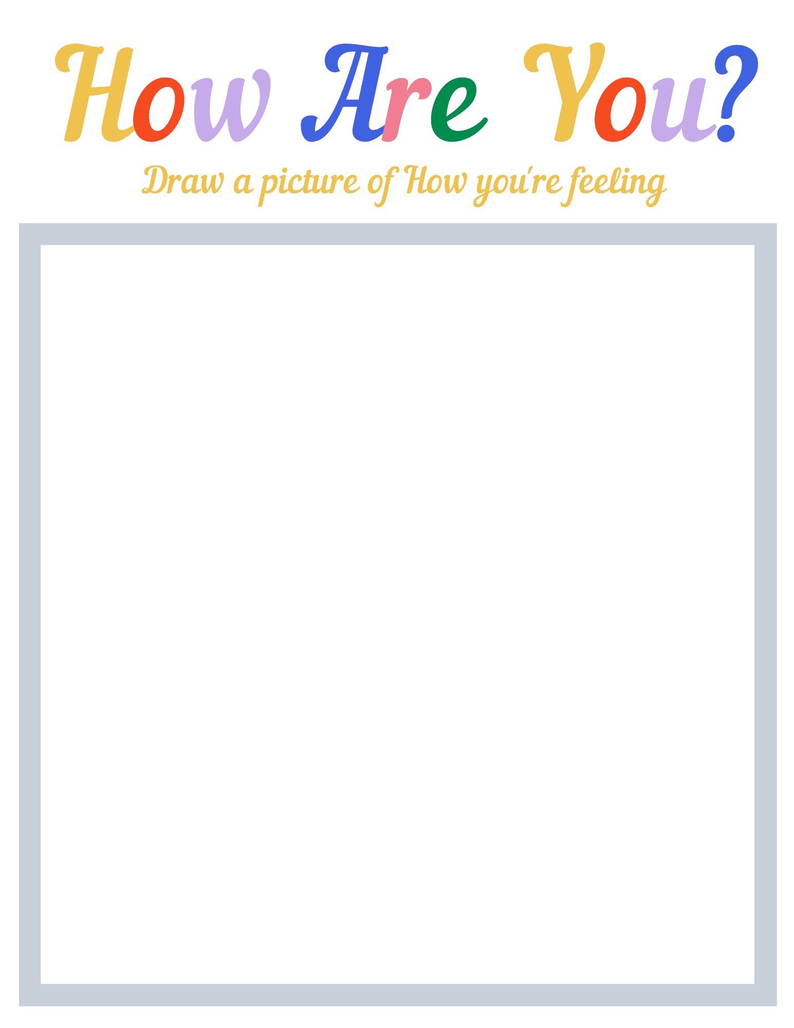 Free Printable Toddler Worksheets For Emotions In
