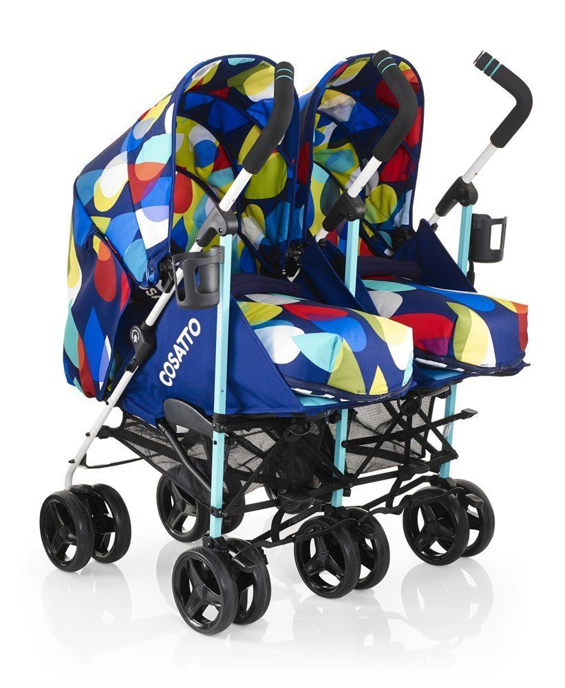 Cosatto To Fro Duo Twin Stroller