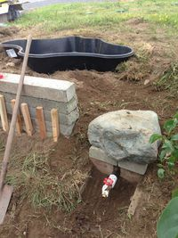 Duck Houses - Page 10 last picture of drain for getting the duck water to other plants