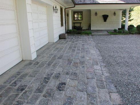 Driveway Driveway Design Stone Driveway Pavers