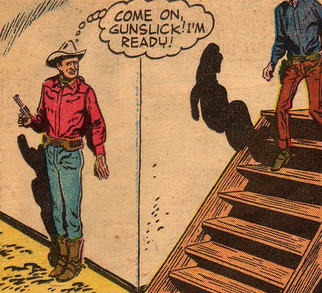 "vintagecowboy: """"Come on, gunslick! I'm ready!"" """