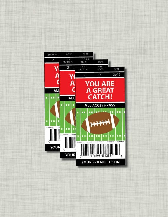 diy football valentine cards printable pdf for classroom exchange at school you are purchasing a printable - Football Valentine Cards