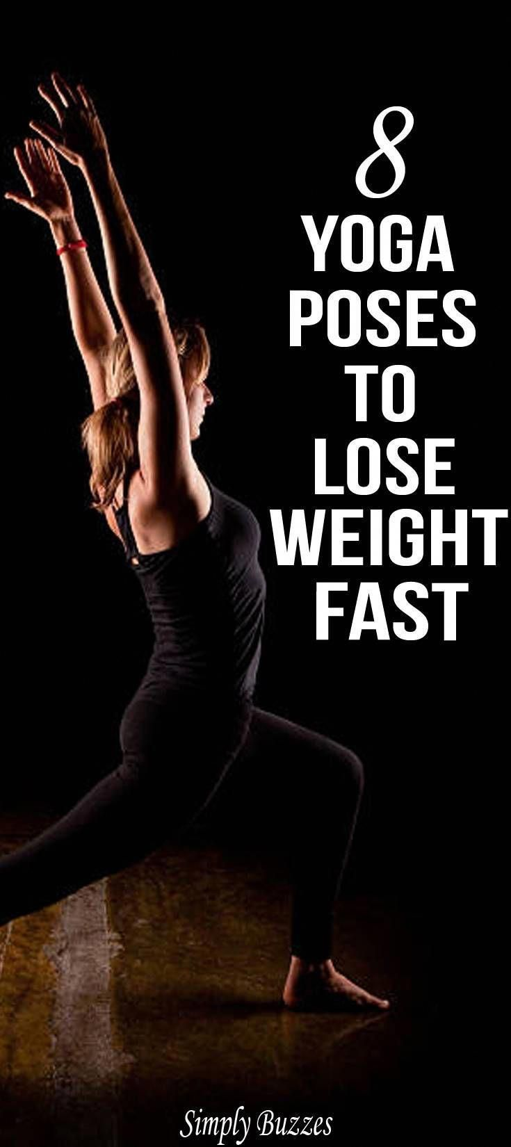 8 Best Yoga Workouts For Weight Loss That Any Beginner Can Do It Quickly And Easily. #yogaforweightl...