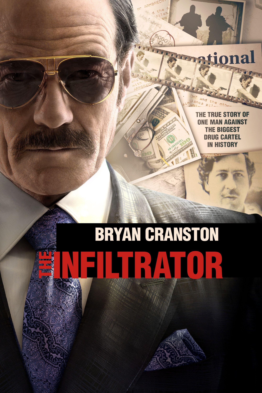 The Infiltrator Movie Poster - Bryan Cranston, Diane Kruger, John ...