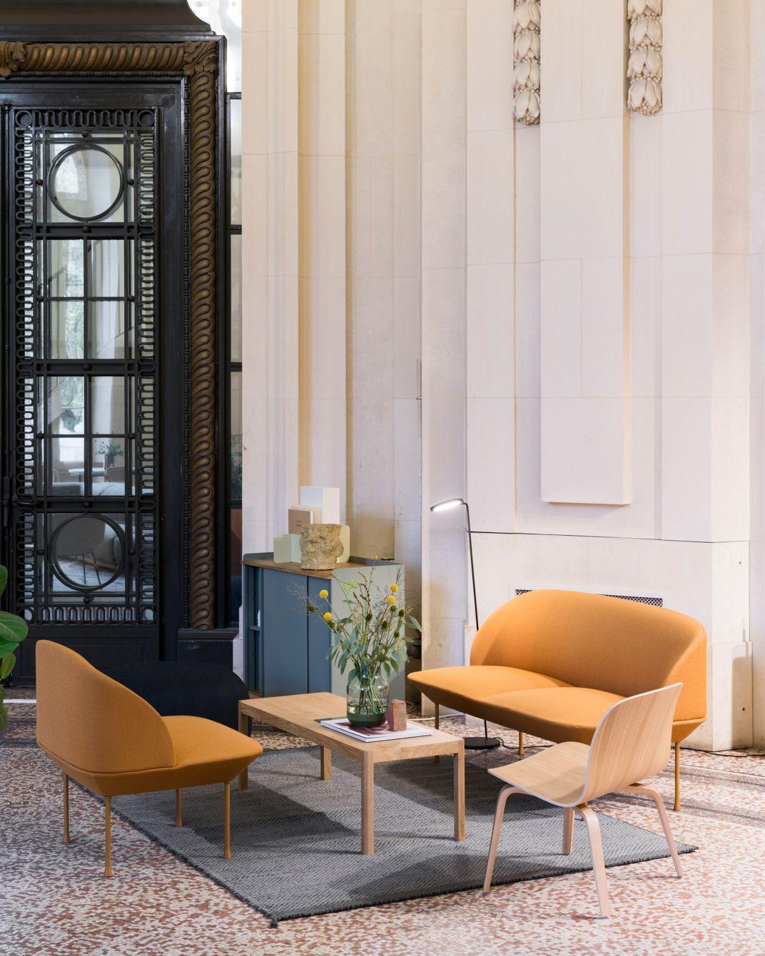 Scandinavian Sofa Inspiration From Muuto The Oslo Sofa Family Unites Geometric Li Living Room Scandinavian Lounge Chairs Living Room Scandinavian Lounge Chair #scandinavian #living #room #chairs