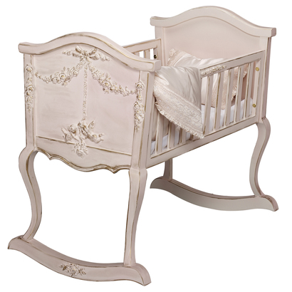 Cherubini Cradle In 2020 Luxury Baby Crib Baby Bed Cradles And Bassinets