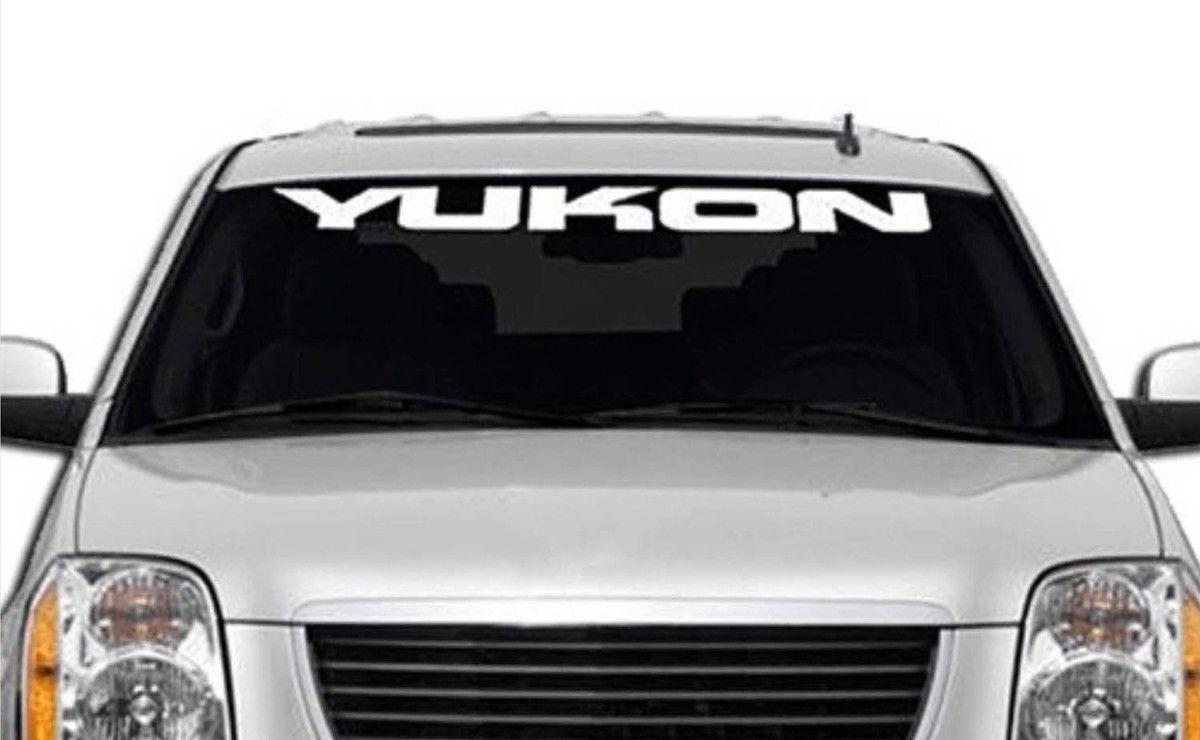 19502017 GMC Yukon Denali Vinyl Windshield Body Decal