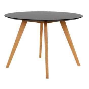 table ronde diametre 110cm hauteur 75cm noir Home inspiration - Hauteur Table Salle A Manger
