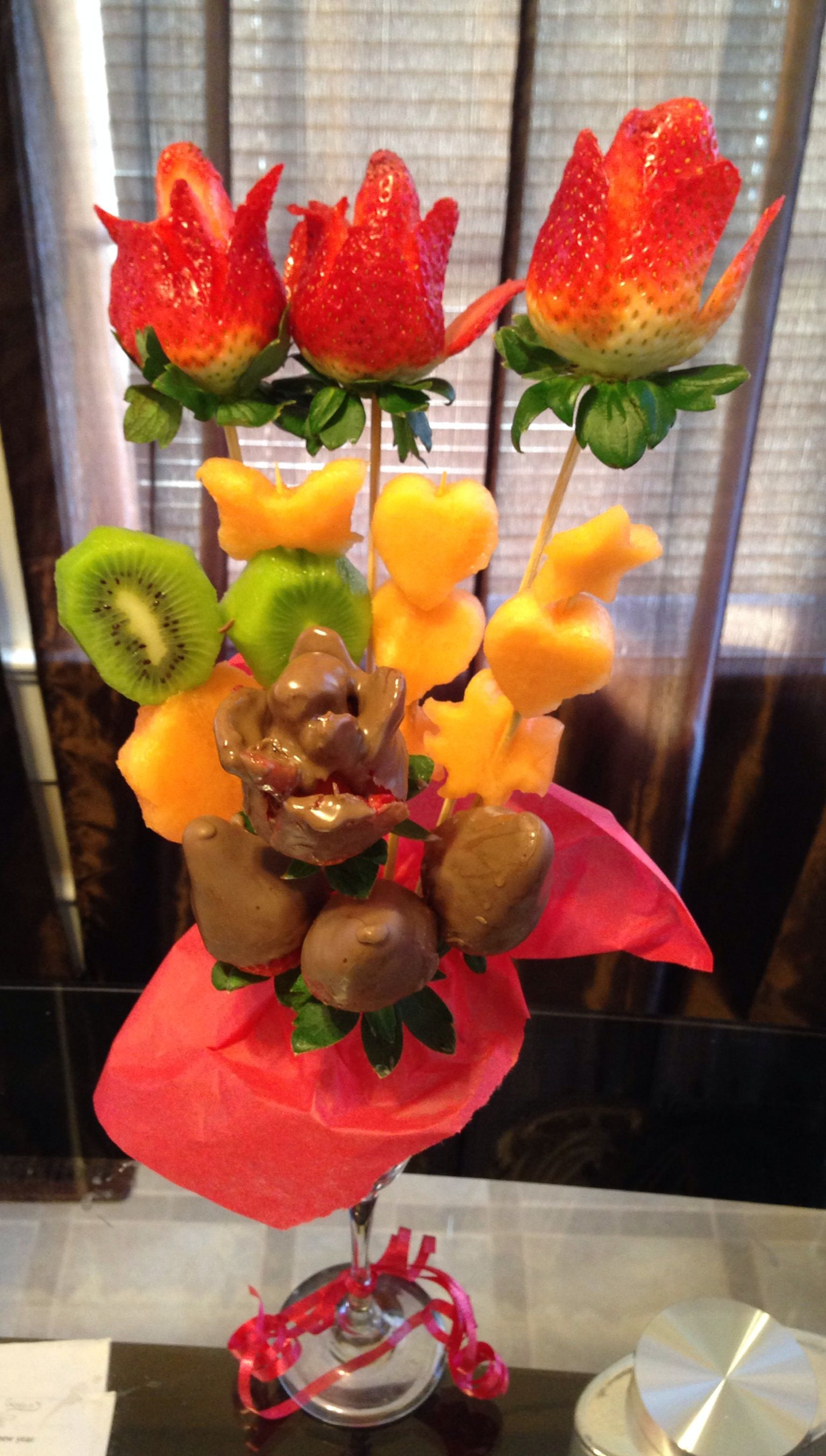arreglos frutales 3d artistic gelatin pinterest