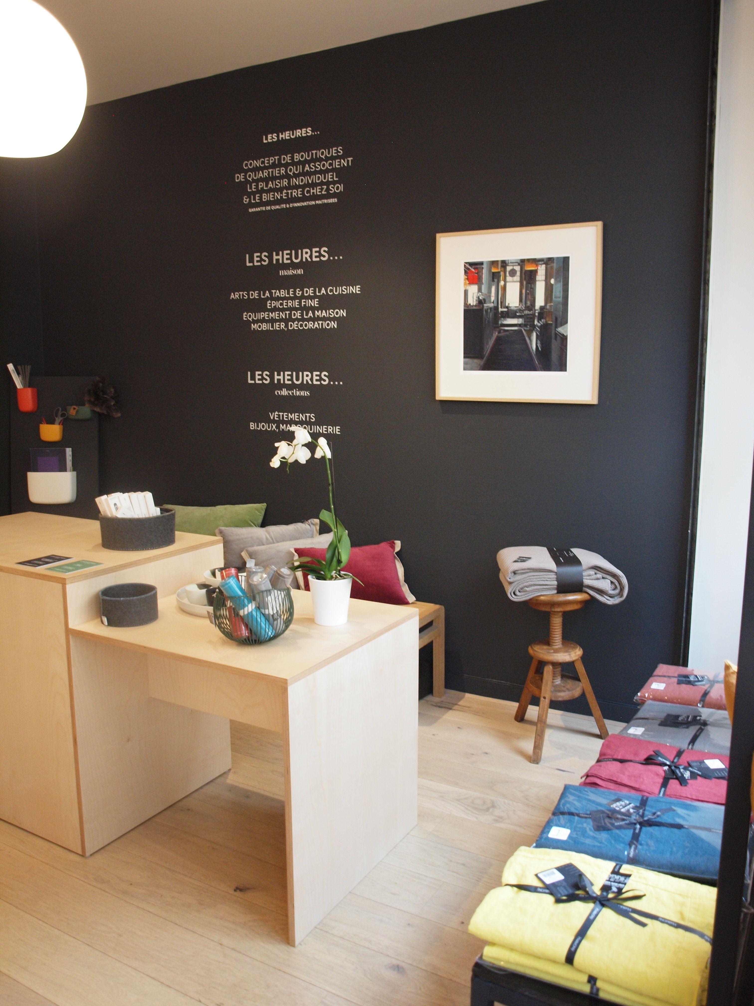 7 Les Heures Maison Boutique Decoration Saint Mande Accueil Et Mur Tableau Noir Maison Paris Maison Boutique De Decoration