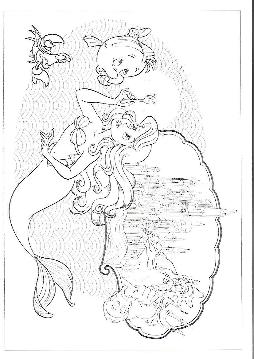 Pin von marjolaine grange auf la petite sirène   Pinterest