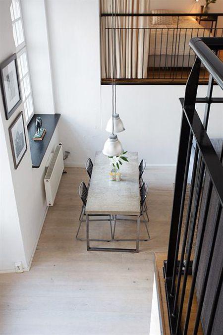 Loft de 67 m de estilo n rdico industrial ideas for Decoracion loft industrial