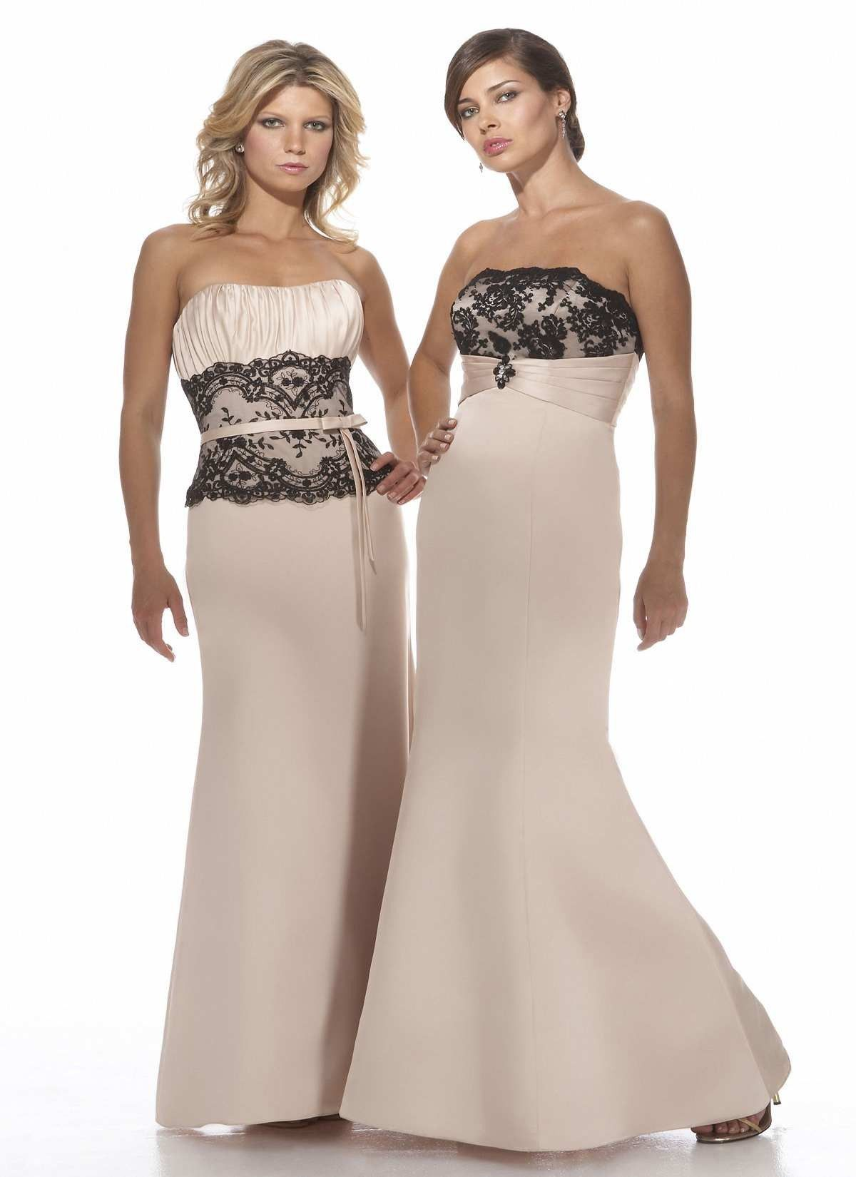 Black lace bridesmaid dresses australia