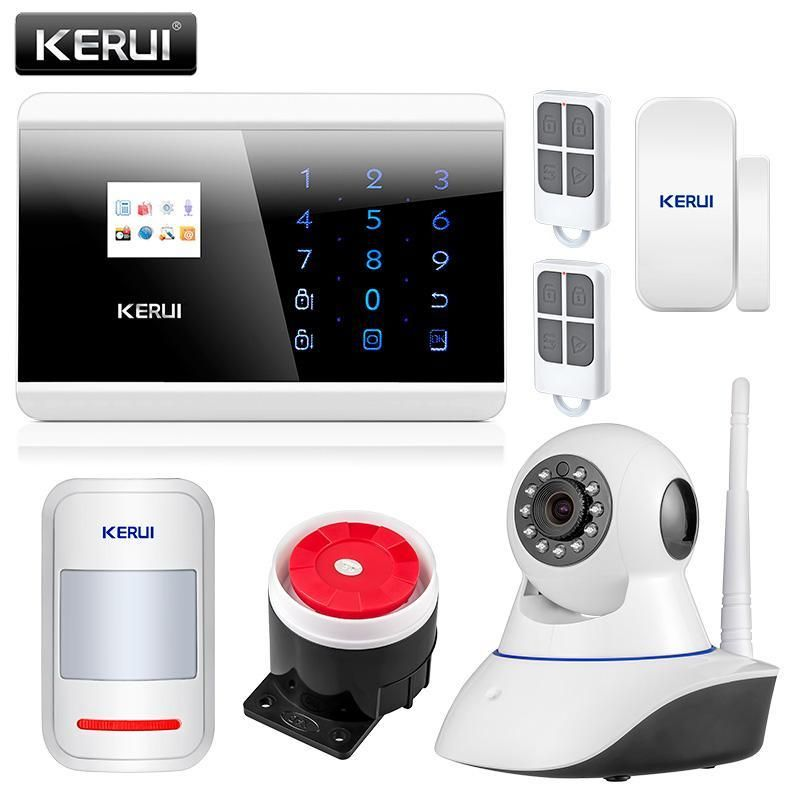 Kerui 8218G App Ios Android Gsm Pstn Dual Wireless Home