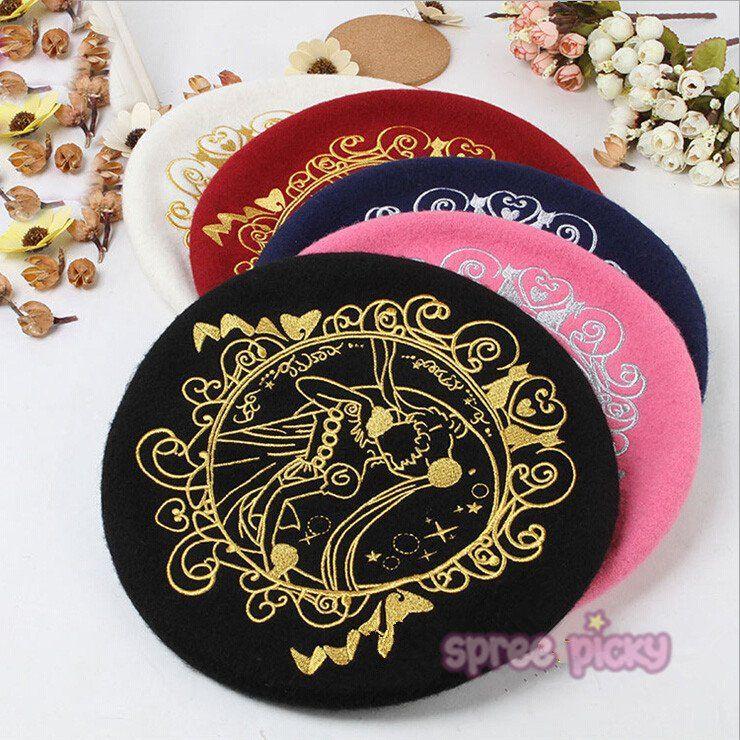 5 Colours [Sailor Moon] Princess Serenity Beret Hat SP164718