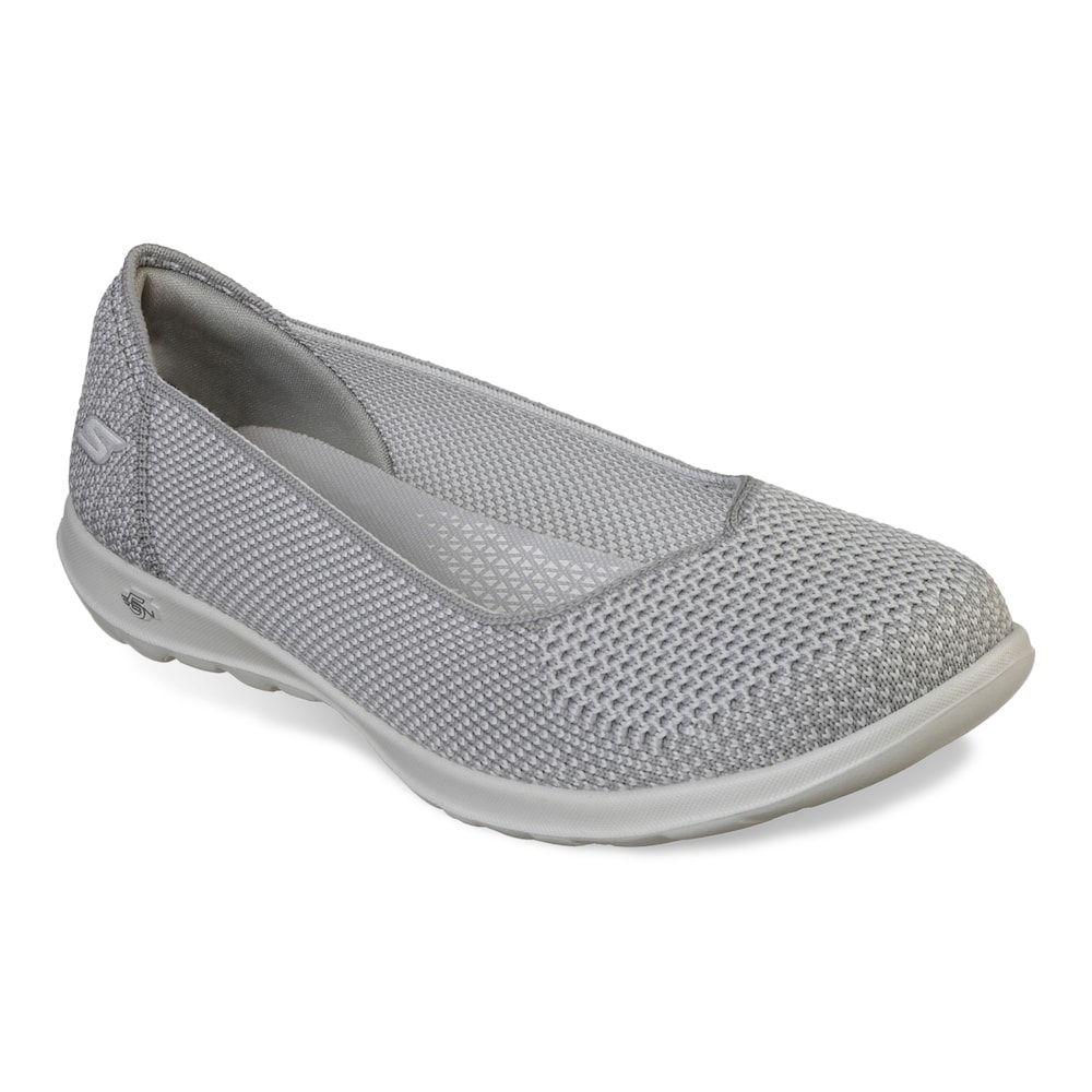 Skechers Gowalk Lite Moonlight Flats Casual Slip On Shoes