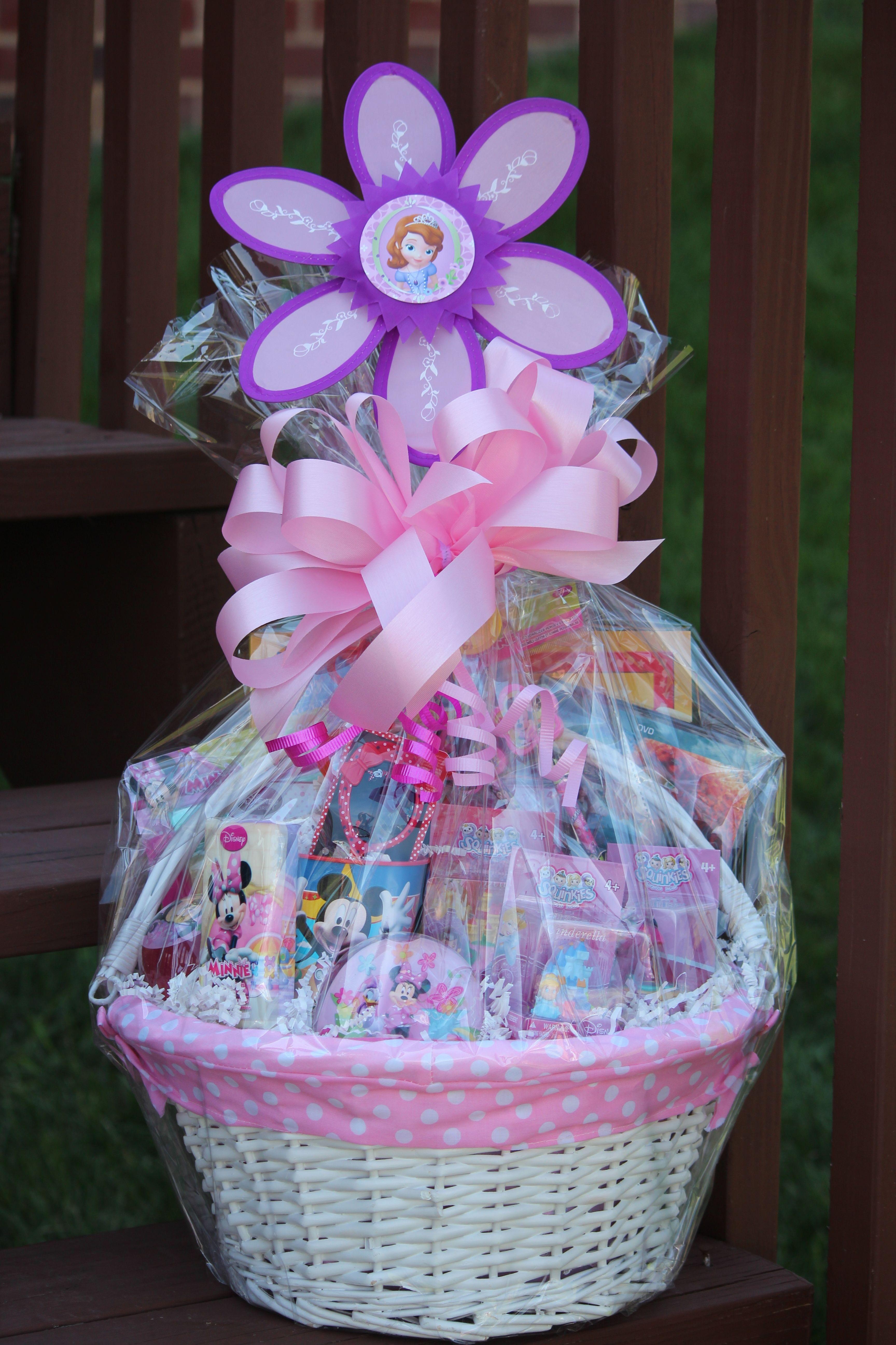Disney easter baskets homemade easter baskets kids gift