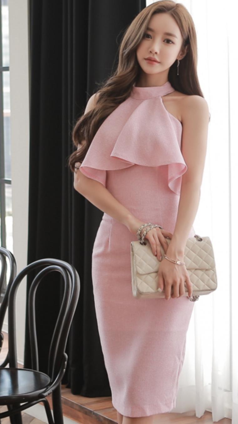 Кореянки в платьях (75 фото) | Модные стили, Наряды, Платья