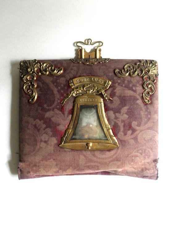 Rare Victorian Estate Good Luck Liberty Bell By Jackpotjen